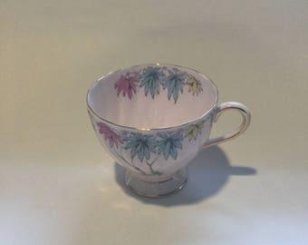 Vintage Pink Floral Teacup