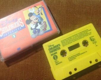 Disney Children's Favorites audio cassette tape 26 Classic Songs