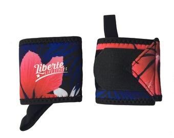 Aloha Floral Wrist Wraps
