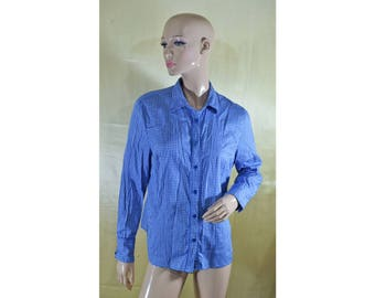 Vintage women shirt blouse top