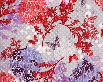 PATCHWORK GARDEN great ROBERT KAUFMAN fabric