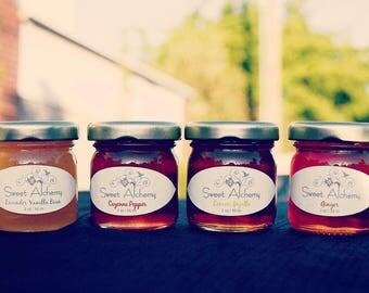 Ginger Infused Honey - 2oz jars (Case of 50)
