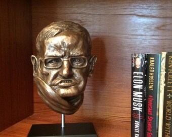 Stephen Hawking Fine Art Portrait Safe
