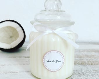 COCONUT – Natural Scented Candle – 250g