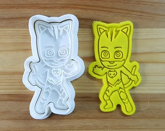 PJ Mask Catboy Cookie Cutter and Stamp
