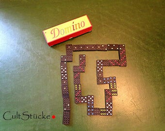 Vintage very old Domino game Domino stones