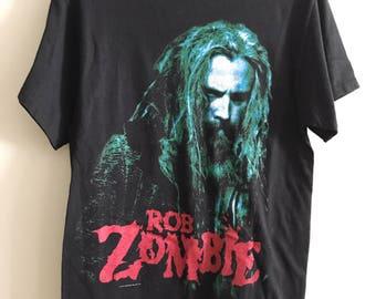 """Vintage ROB ZOMBIE """"The Sinister Urge"""" tee"""