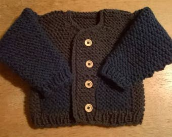 Handmade Knitted Baby Sweater