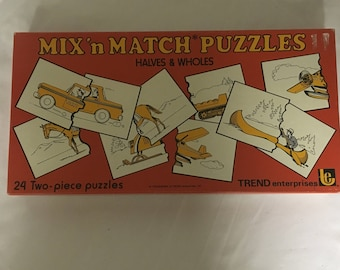 Mix and Match puzzle game