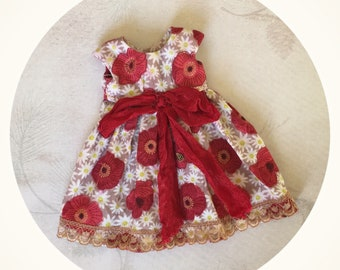 Blythe Doll Dress Pullip Jerryberry Licca pure neemo S Poppies