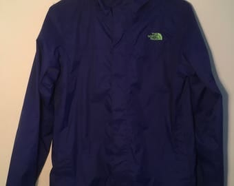 North Face Blue/Green Dryvent Jacket