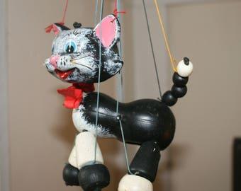 Vintage Pelham Cat Puppet