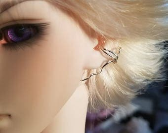 Ball Jointed Doll Earcuff Spiral