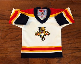 Vintage 90's CCM Florida Panthers NHL Toddler Jersey