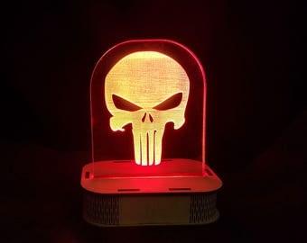 Punisher LED Sign
