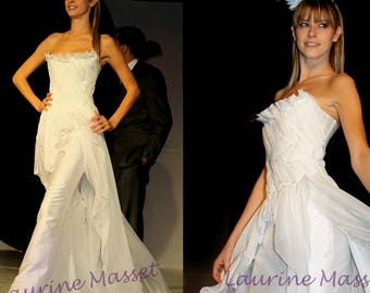 Chimera LAURINE MASSET silk wedding dress