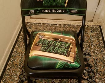 WWE Money In The Bank Briefcase PPV Chair