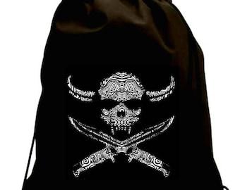Ropes Waterproof Skull Bag