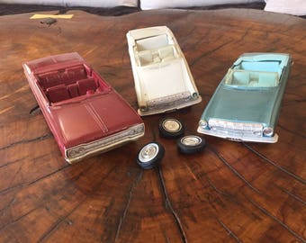 Chrysler ,dodge 3 promo cars ( needs repairs) as shown