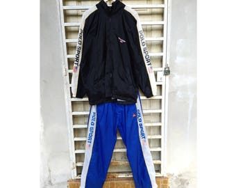 Made in USA Polo Sport Tracksuit Polo Ralph Lauren Large