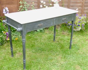 NOW ** SOLD ** Vintage Marble Top Wash Stand