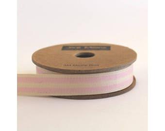 Jane Means Striped Grosgrain Ribbon