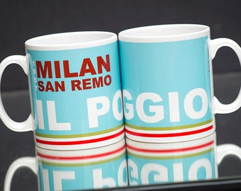 Cycling  Mug Milan San Remo il Poggio