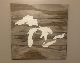 Michigan Wall Art lower prices michigan great lakes wall decor