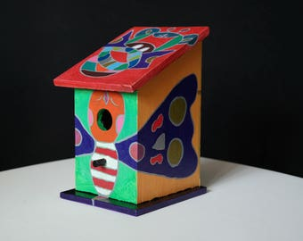 Decorative birdhouse 2.