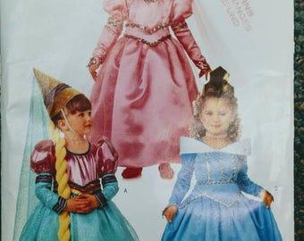 Princess Costume Pattern - Butterick 4599