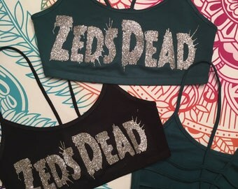 Large Zeds Dead Bra Top *Ready to Ship*
