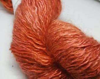 Fluffi-Silk with mohair Chinese red