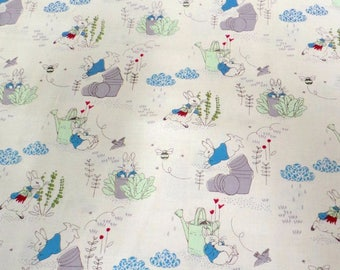 Beatrix Potter Peter Rabbit Fabric 1m