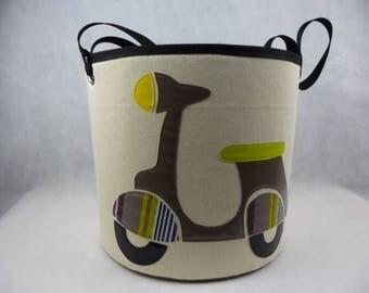 basket glazed Brown scooter