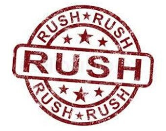 Rush - Express - Expedited Shipping Up-Charge