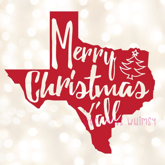 merry christmas y all svg texas christmas svg southern