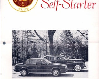 Summer Sale Cadillac La Salle Club THE SELF-STARTER August 1982