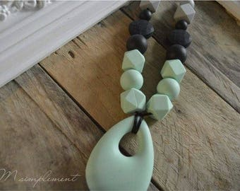 Teething necklace. [Authentic].