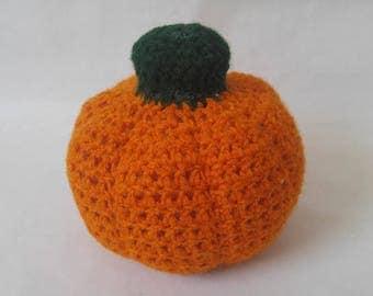 Handmade Crochet Plush Pumpkin