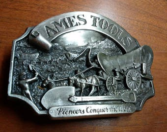 Ames Tools Pioneer Belt Buckle