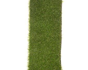 Grass Table Runner / Grass Mat Decor/ Grass Mat Decoration/ Fake Grass Decor