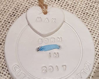 New baby tag