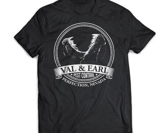 Val And Earl Pest Control | Tremors |  Gift | Shirt | T-Shirt | Tremors |