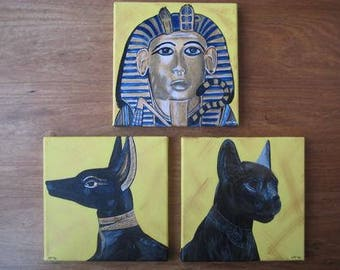 3-Liege Egypt/Tutankhamun-BASTT-Anubis