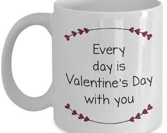 Valentine's Day Mug | Ceramic Coffee Cup | Great Gift Idea