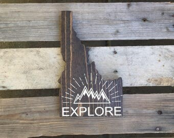 Explore Idaho Sign