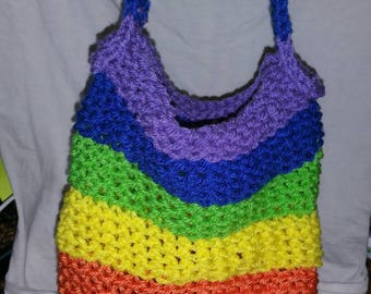 Rainbow mesh bag