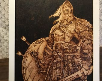 Warlord Woodburning