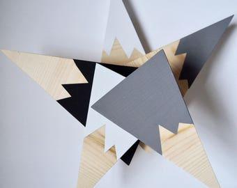 mi+my wooden skinny mountains (set of 2)