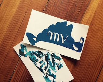 Martha's Vineyard vinyl decal